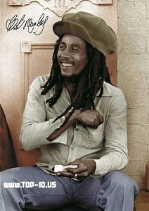 Jamaican - Robert Nesta 'Bob' Marley - one of the world's most iconic artistes