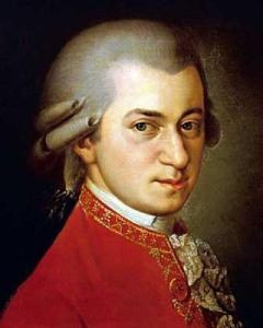 Wolfgang Amadeus Mozart - Austrian classical composer