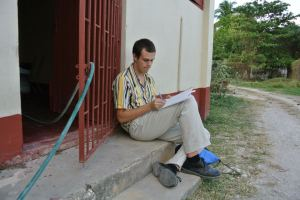 Kevin Terbush - American student and participant in Village Tourism Project