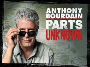 Anthony Bourdain - Chef, Author and TV personality. Photo Credit - CNN.com