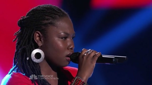 Anita Antoinette performing on NBC's 'The Voice' Competition.  Photo Credit - AnitaAntoinette.com