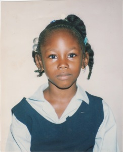 Anita Antoinette at 6 years old.  Photo Credit - AnitaAntoinette.com